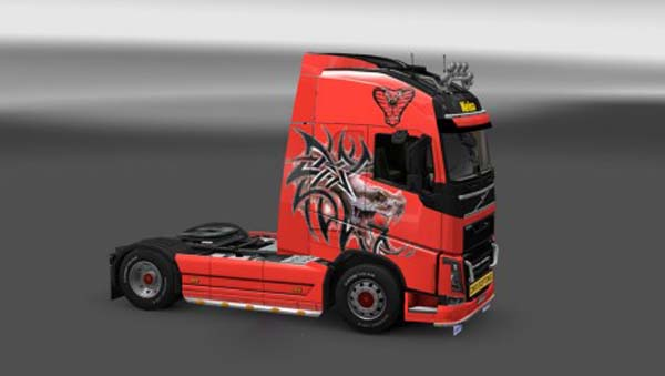 Volvo FH 2012 Snake Skin