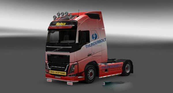 Volvo FH 2012 Thunderbolt Skin