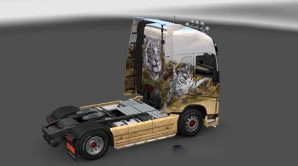 Volvo FH 2012 Tiger Skin