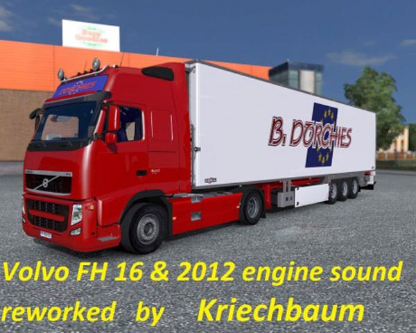 Volvo FH Stock Sound Reworked