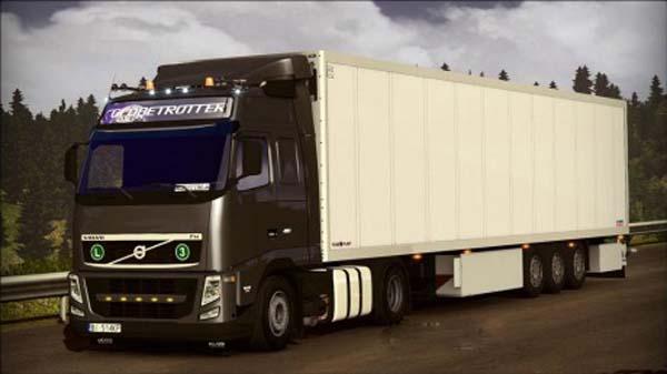 Volvo FH13 + Interior + Tuning