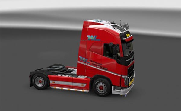 Whiteland skin for Volvo FH