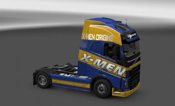 X-Men skin for Volvo FH