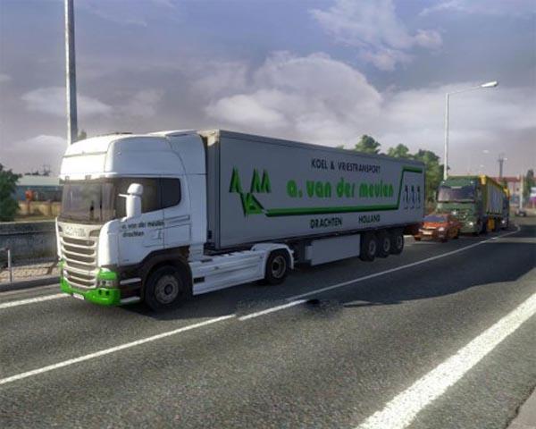 A. van der Meulen truck + trailer skin
