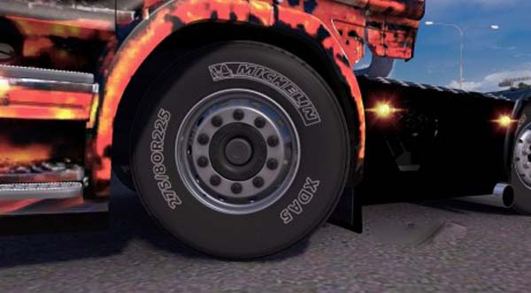 Alcoa Wheels Pack with HD Michelin Texture