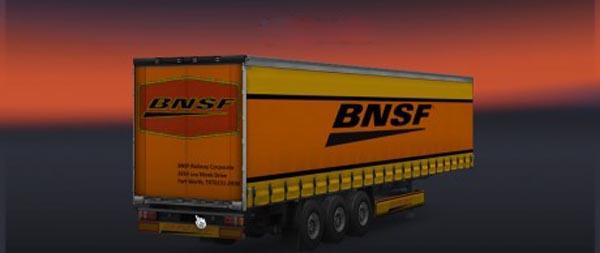 BNSF Trailer