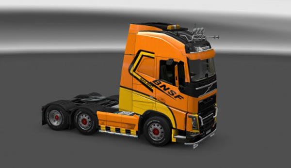 Bnsf skin for Volvo FH