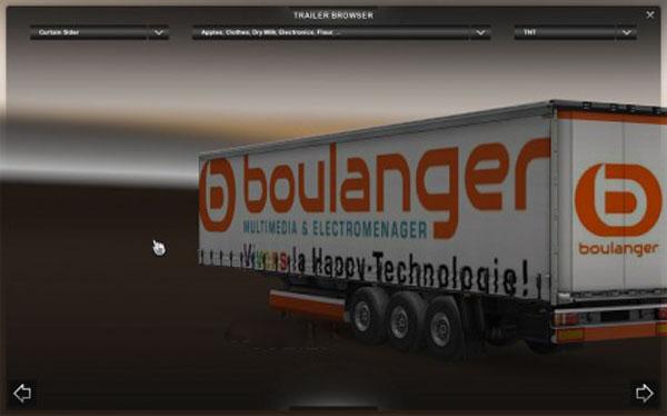 Boulager trailer