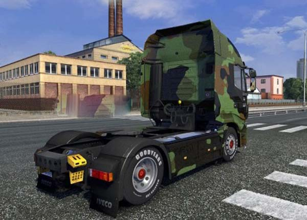Camo skin for Iveco Hi-Way