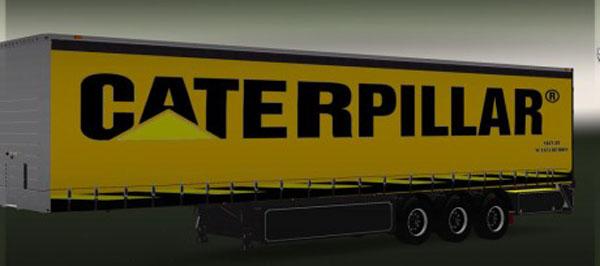 Caterpillar Trailer Skin