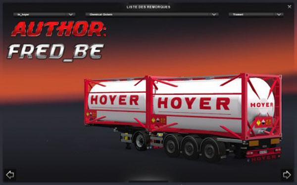Chemical Hoyer Trailer