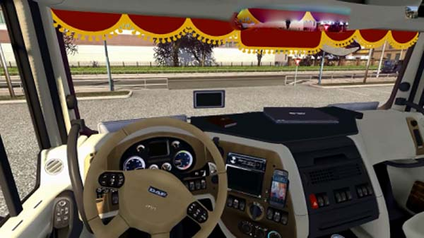 DAF XF 105 LT + Interior