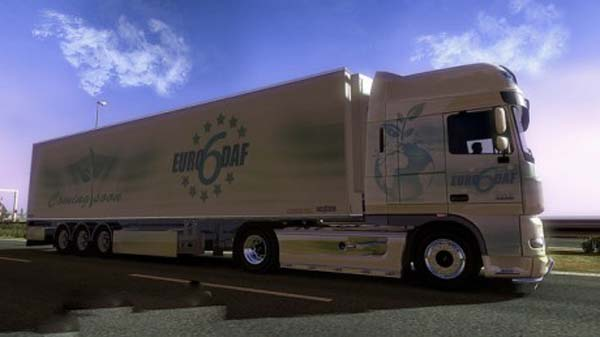 Euro 6 DAF Chereau Trailer