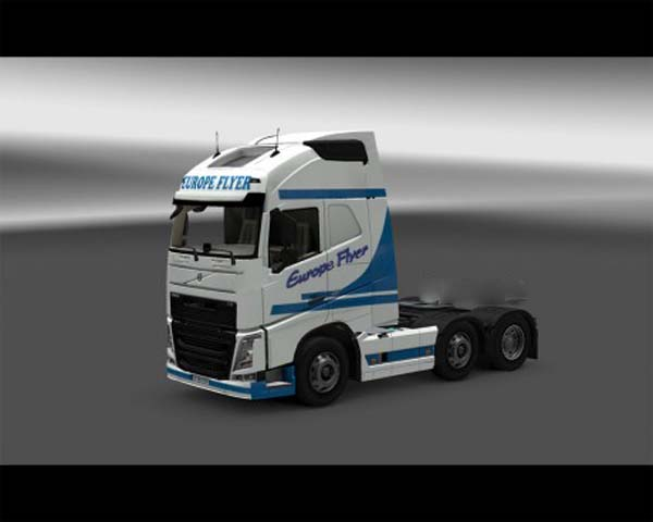 Europeflyer skin for Volvo FH