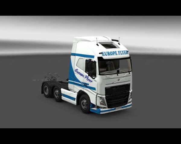 Europeflyer skin for Volvo FH