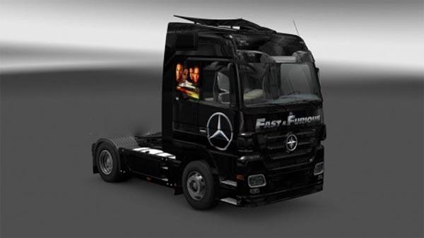 Fast And Furious – skin Mercedes