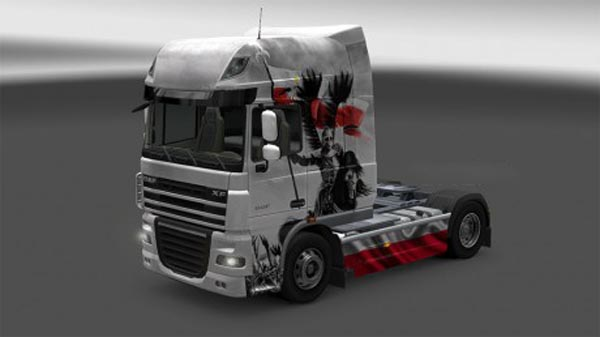 Husaria skin for DAF XF