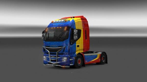 Iveco Hi Way Romania Paintjob
