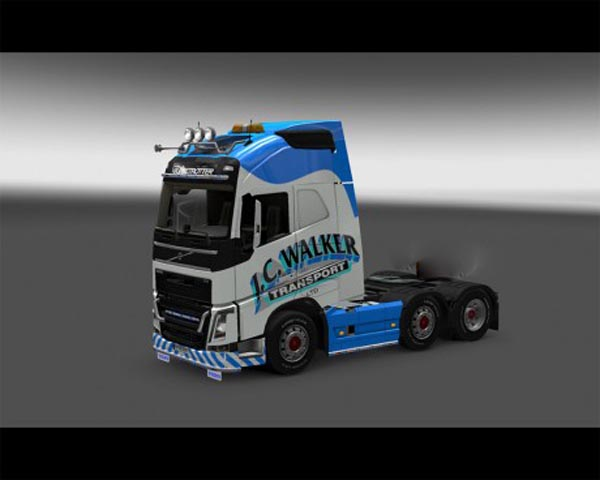 JCWalker skin for Volvo FH