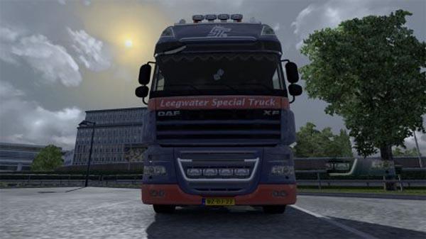Leegwater Special Truck skin daf XF 50keda