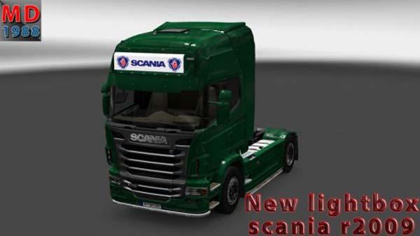 Lightbox Scania R2009