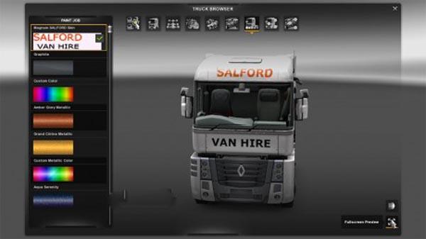 Magnum Salford truck Skin