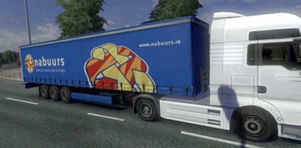 Nabuurs Logistics Trailer