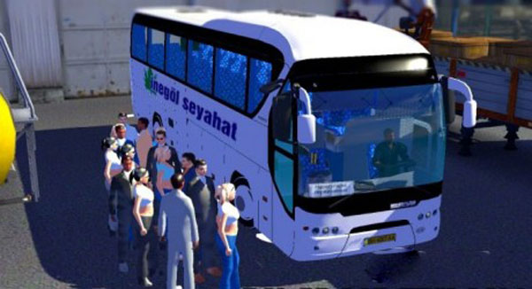 Neoplan Tourliner + Interior + Passengers