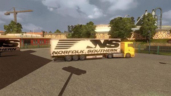 Norfolksouthern trailer skin