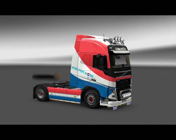 Pepsi skin for Volvo FH