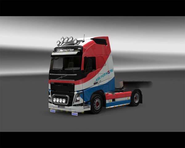 Pepsi skin for Volvo FH