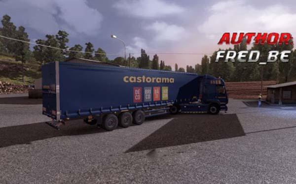 Renault Premium + Trailer Castorama