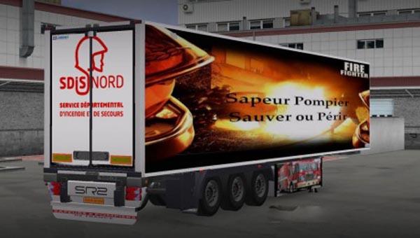 Sapeur Pompier Trailer