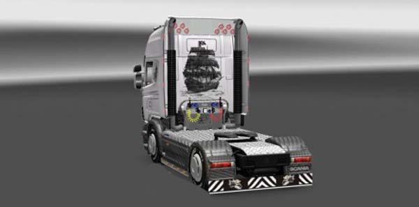 Scania Carbon Pearl Skin