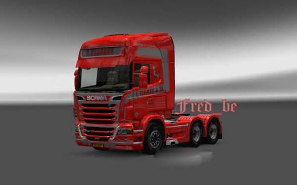Scania R2009 + Trailer S.Verbeek