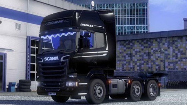 Scania RHD Curtains