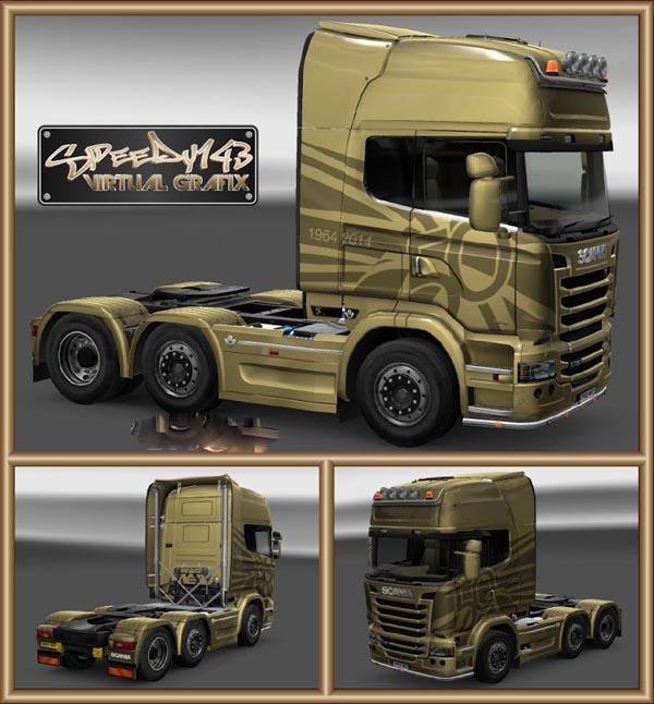Scania Streamline Golden Griffin