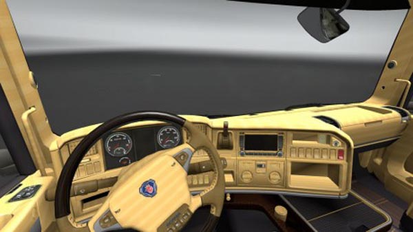Scania Streamline Wood Interior