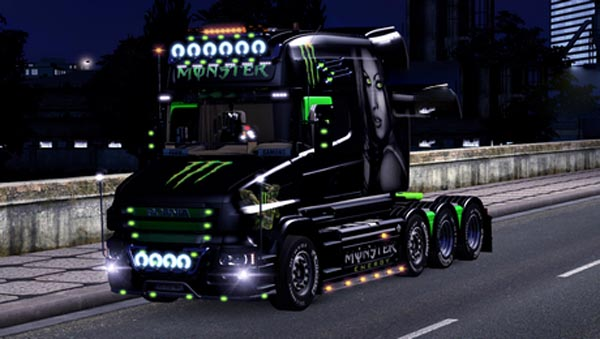 Scania T Monster Energy Skin