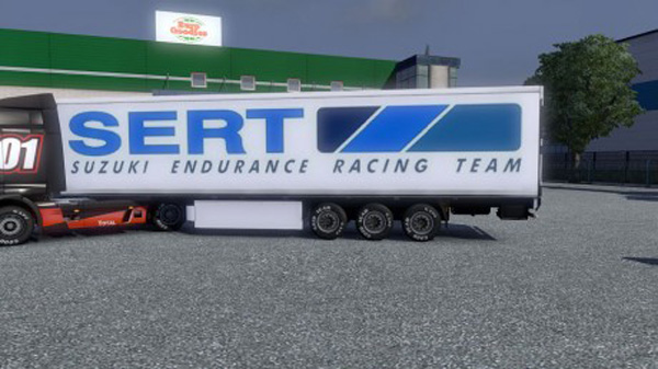 Suzuki Sert trailer