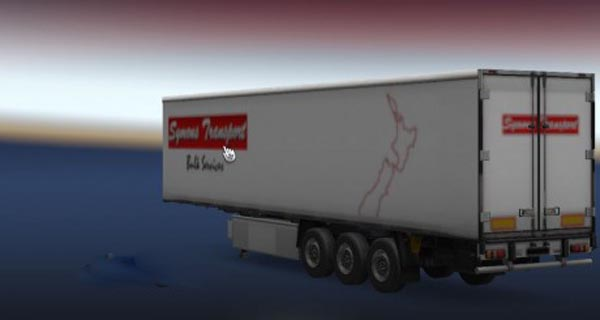 Symons Transport Trailer Skin