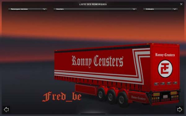 Trailer Coolliner and PROFILINER Ronny Ceusters