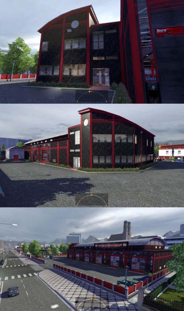 Trucksim Map Garage
