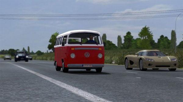 Volkswagen Combi T2 Traffic AI