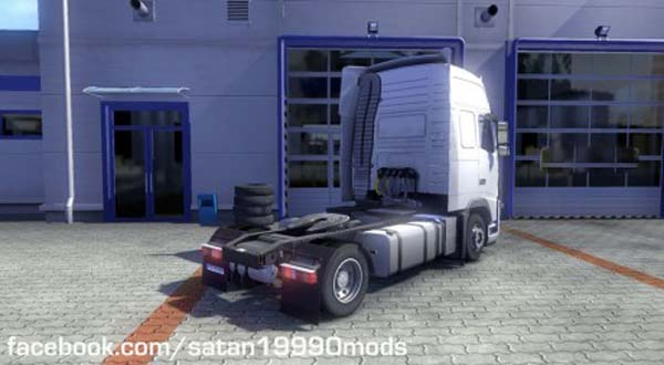 Volvo FH 2009 Low Deck