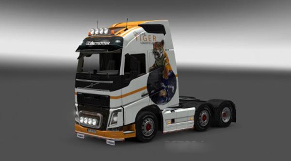 Volvo FH 2012 Global Tiger Skin