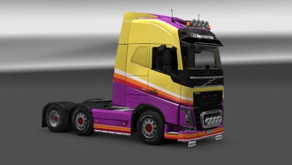Volvo FH 2012 Ruttle Plant Skin