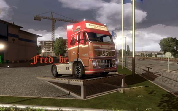 Volvo fh16 Ronny Ceusters