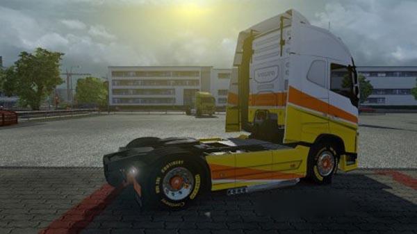 Yellow New Sirius 2.0 wheels