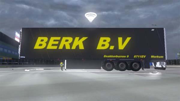 Berk B.V Trailer